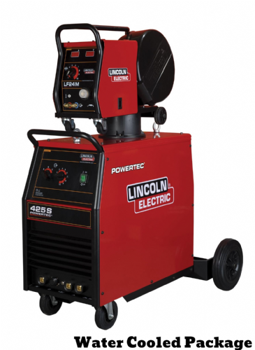 Lincoln Powertec 425S Mig Welder,  Water Cooled , 5m Interconnection - Ready to weld (1)